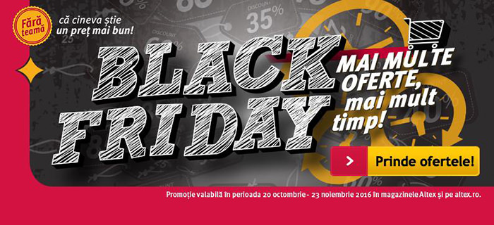 Black Friday 2016 Altex
