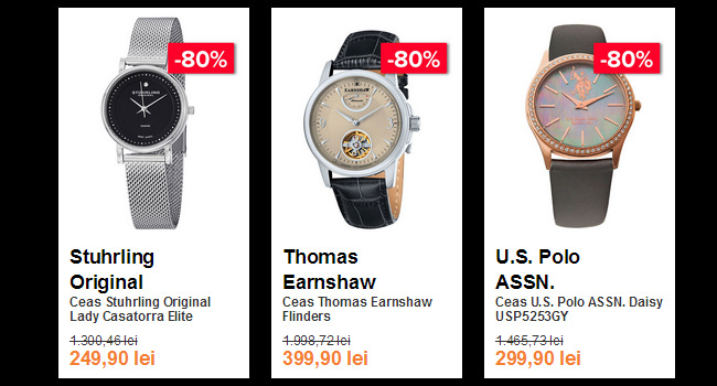 Ceasuri Black Friday 2015 Elefant