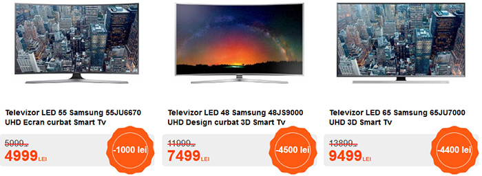 Oferte TV Black Friday 2015 Cel