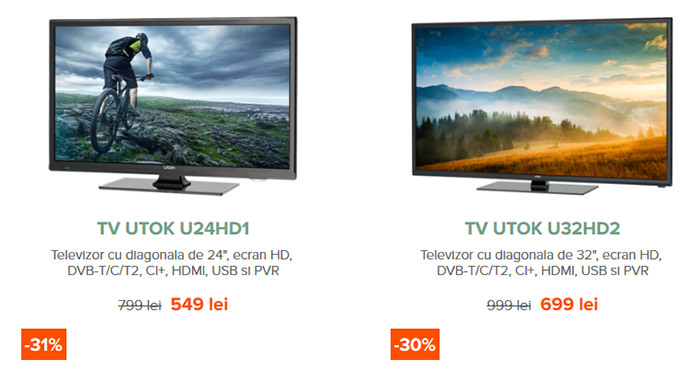 Oferte TV Black Friday 2015 UTOK