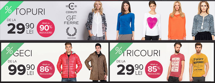 Reduceri FashionUP Black Friday 2015