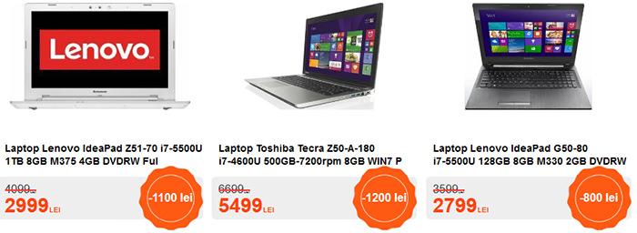 Laptopuri Black Friday 2015 Cel.ro