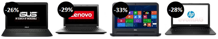 Laptopuri Black Friday 2015 evoMAG