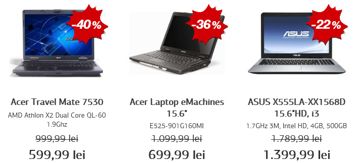 Laptopuri Black Friday 2015 Germanos