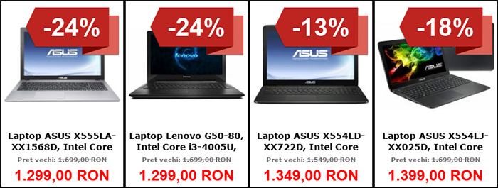 Laptopuri Black Friday 2015 MarketOnline