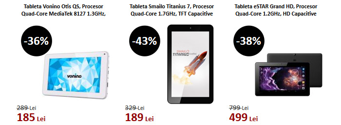 Tablete Black Friday 2015 evoMAG