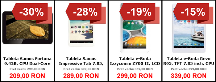 Tablete Black Friday 2015 MarketOnline