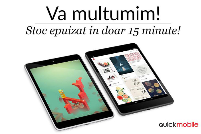 Tablete Black Friday 2015 QuickMobile