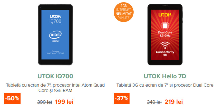 Tablete Black Friday 2015 UTOK