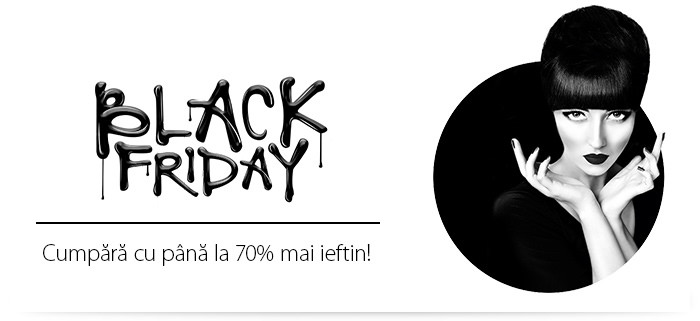 Aoro Black Friday din 25 noiembrie 2016