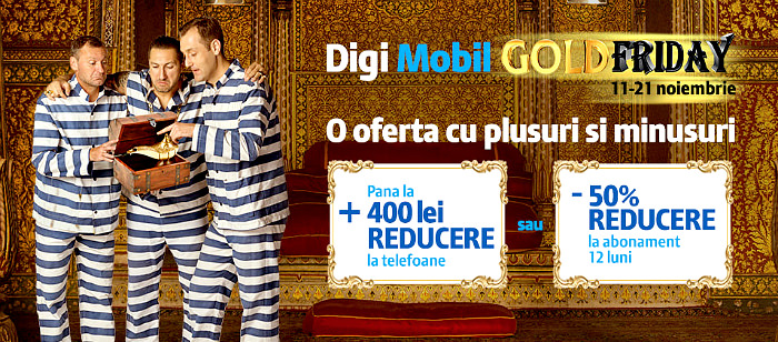 Black Friday 2016 la Digi Mobil