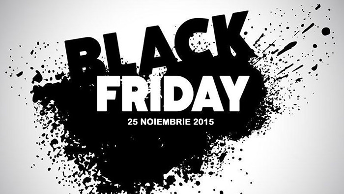 Black Friday din 25 noiembrie 2016