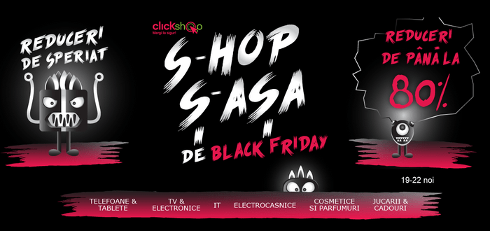 campania clickshop black friday 2016