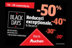Campanie Auchan Black Friday 2016