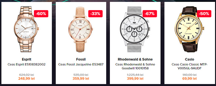 Ceasuri Elefant Black Friday 2016