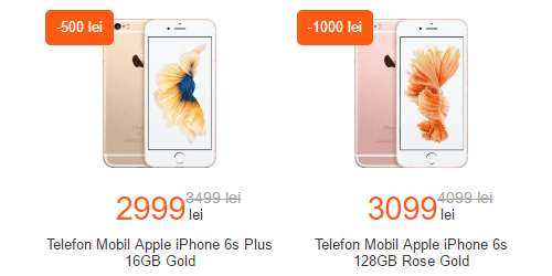 cel.ro black friday 2016 la iphone