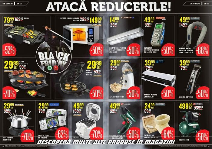 Lidl black friday 2016 readuce ofertele promotionale for Cataleg lidl
