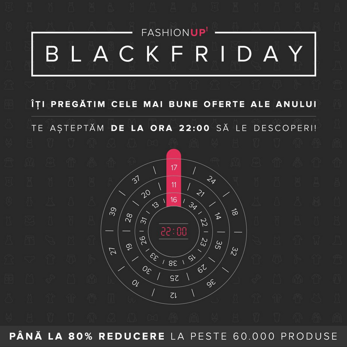 ora start fashionup black friday 2016