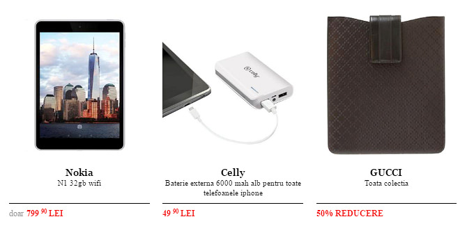 Tablete accesorii Black Friday 2015 QuickMobile