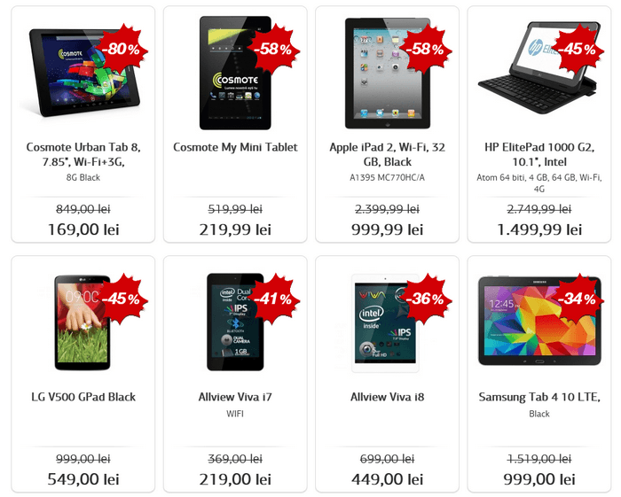tablete black friday 2015 la germanos