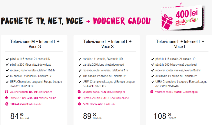 TV net voce Black Friday 2015 Telekom