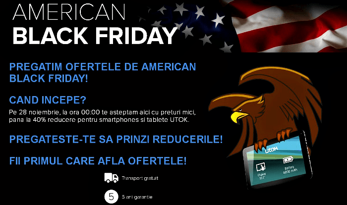 UTOK American Black Friday