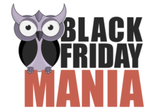 black friday mania logo