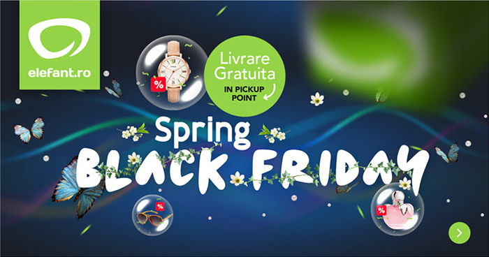Spring Black Friday 2017 la Elefant