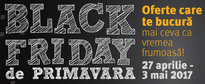 Black Friday de primavara 2017 la Altex