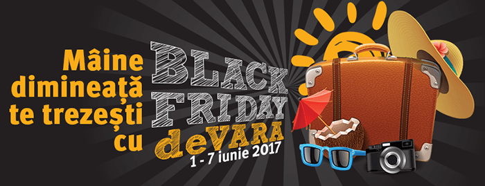 Black Friday de vara 2017 la Altex