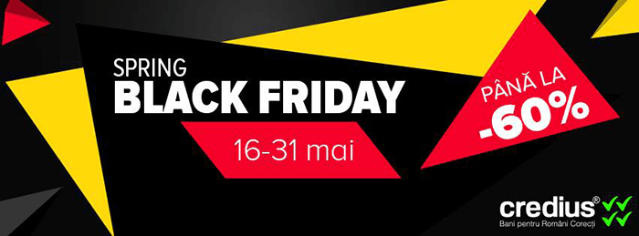 Spring Black Friday 2017 la evoMAG