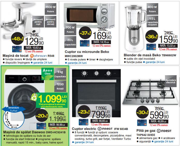 Electrocasnice Black Promo la Carrefour