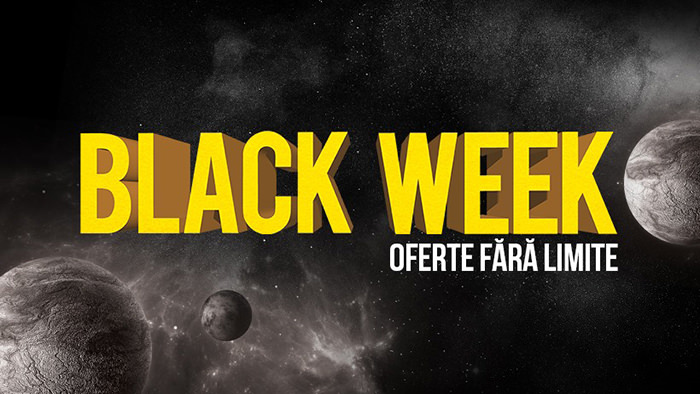 Black Week din 6 - 17 august 2017 la Flanco