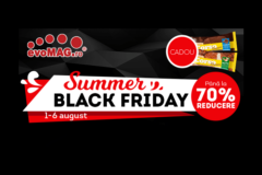 Campanie Summer Black Friday 2017 la evoMAG