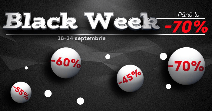 Black Week la evoMAG