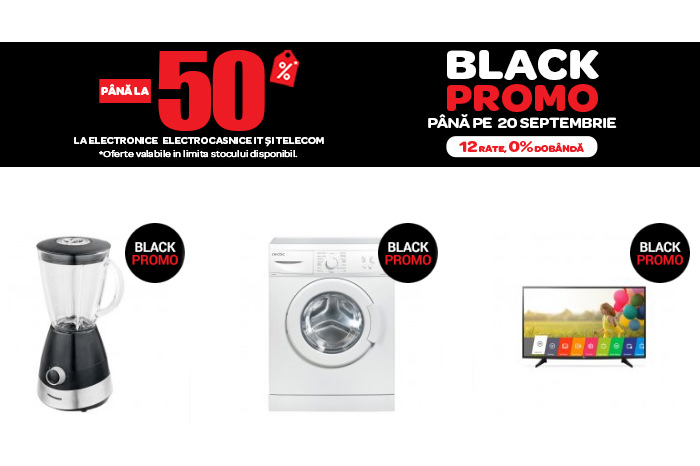 Black Promo 2017 la Carrefour