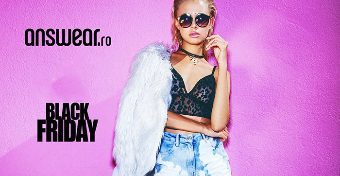 Campanie Black Friday 2017 la Answear