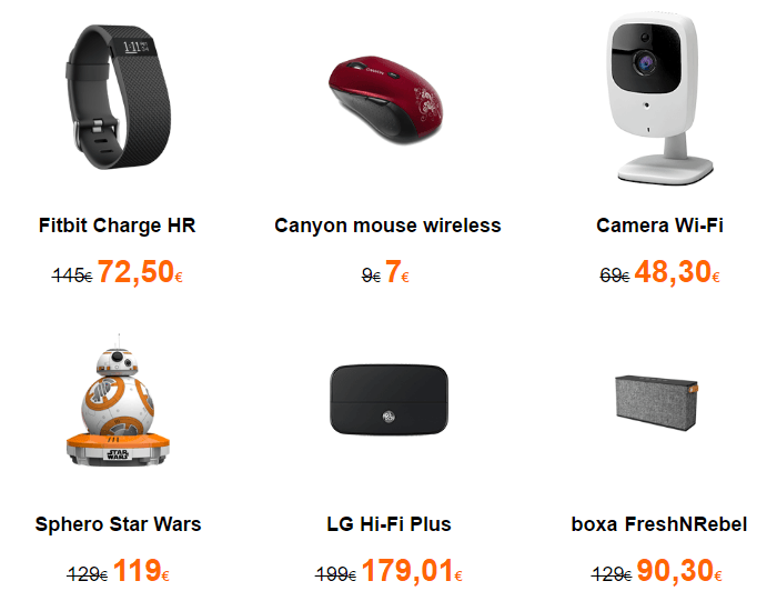 Accesorii gadgeturi Black Friday 2016 la Orange