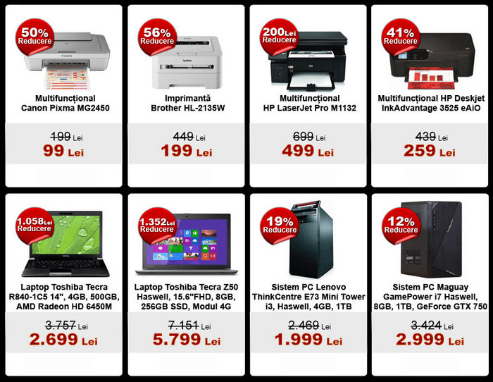 Oferte Black Friday 2014 la evoMAG