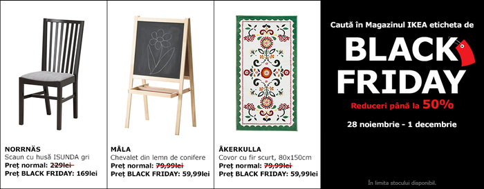 Black Friday 2014 la IKEA