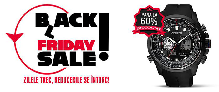 Black Friday 2016 la Watchshop