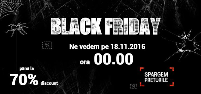 Black Friday 2016 la Nichiduta