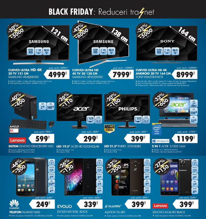 Reduceri Black Friday 2015 la Flanco