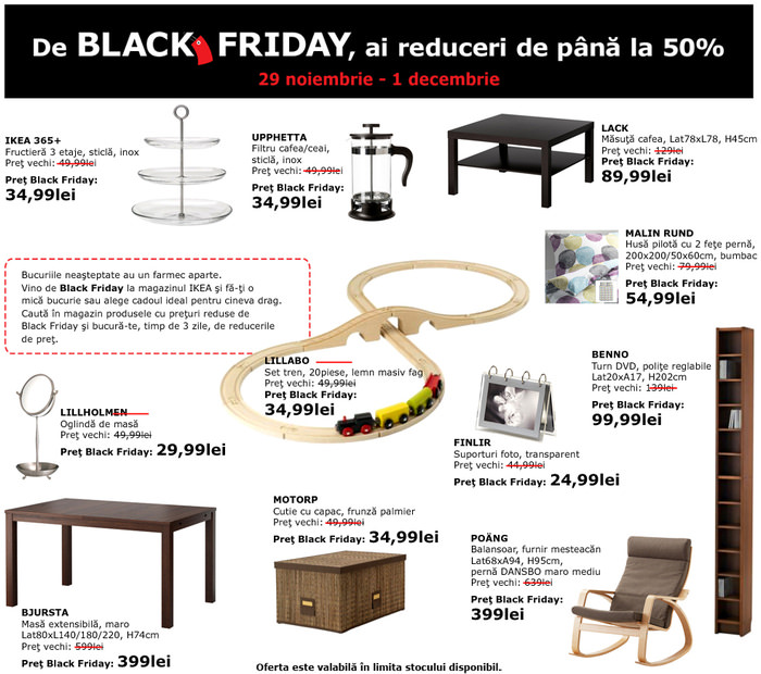 Oferte Black Friday 2013 IKEA
