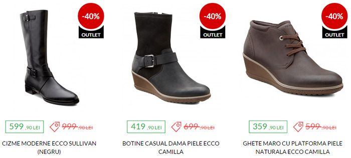Oferte Black Friday 2015 la Ecco