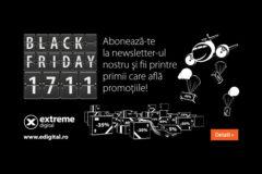 Black Friday Edigital – nu rata reducerile anului! Doar o zi, sute de produse!