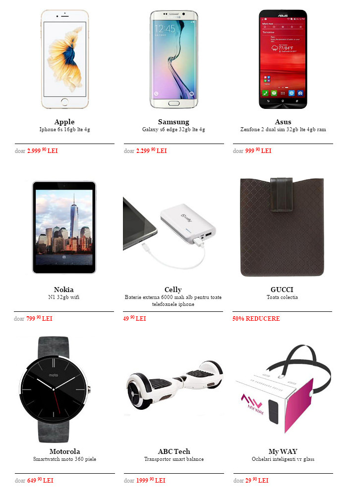 Oferte Black Friday 2015 la QuickMobile