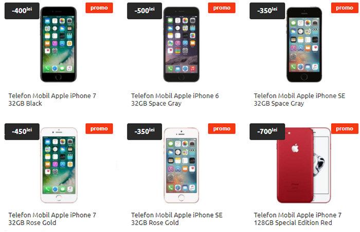 Oferte iPhone Cel.ro