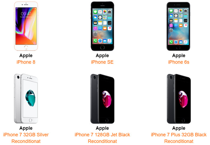 Oferte iPhone Orange