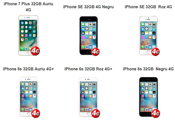 Oferte iPhone Vodafone